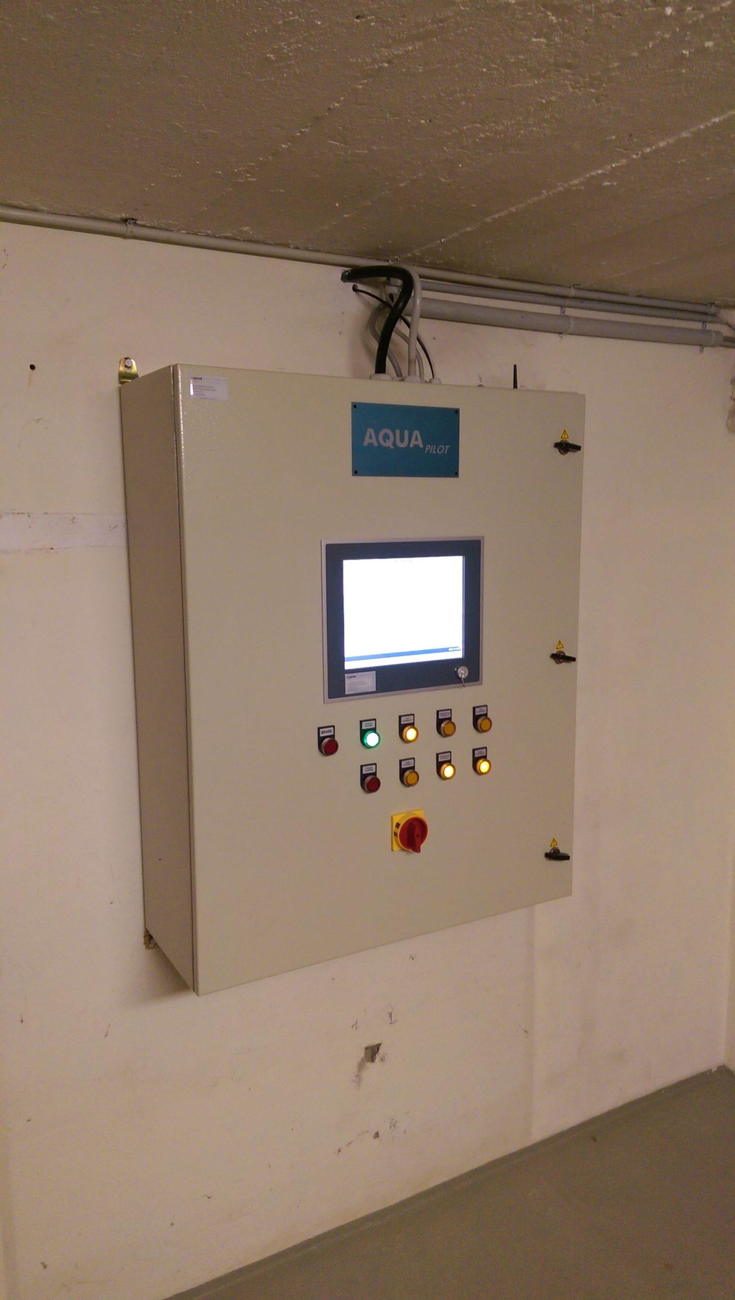 Elektrosteuerung mit Elektrotechnik